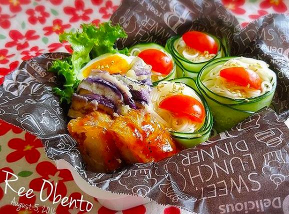 運動会 素麺 お弁当