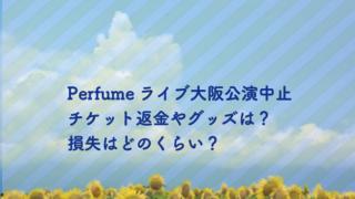 perfume ライブ