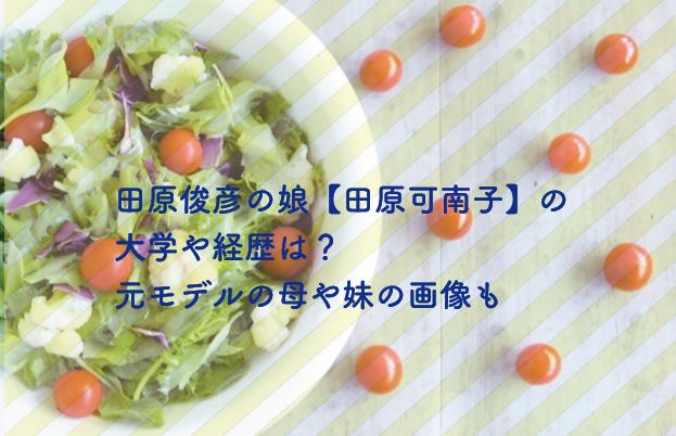 田原可奈子