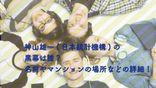 日本統計機構 黒幕