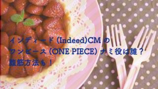 indeedCM ナミ役